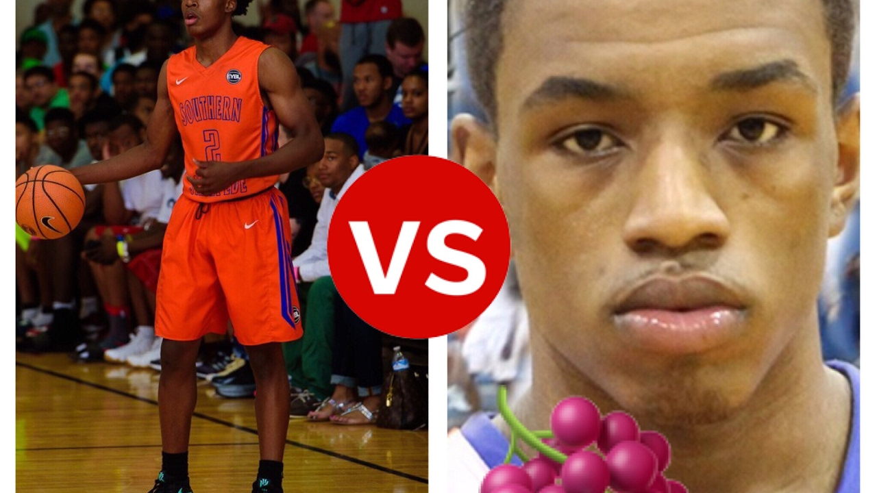 Collin Sexton Vs. Isaiah Washington(jelly fam🍇) Basketball ...
