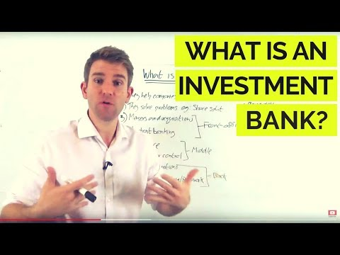 What Do Investment Banks Actually Do? 💰