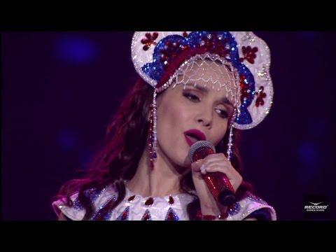 Natalia Oreiro cantó ante 25 mil personas en Rusia