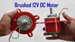 12V DC motor for DIY solar fan cooler Hindi