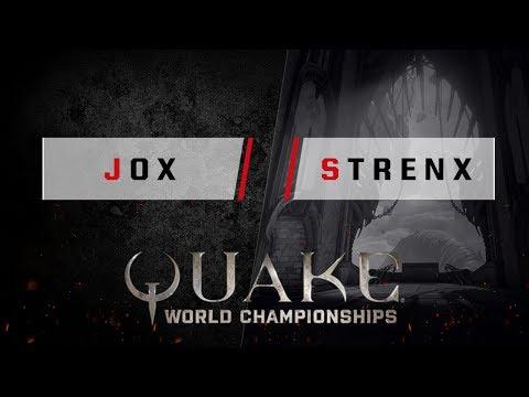 Quake - jox vs. strenx [1v1] - Quake World Championships - Ro16 EU Qualifier #3