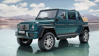 Гелендваген Майбах G 650 Landaulet кабриолет ограниченной серии | Mercedes-Maybach G 650 Landaulet