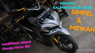 Modifikasi simpel Honda Vario 150 news