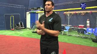 Elite 7 owner and trainer Alex Kube explains the acceleration phase of a 40-yard dash.