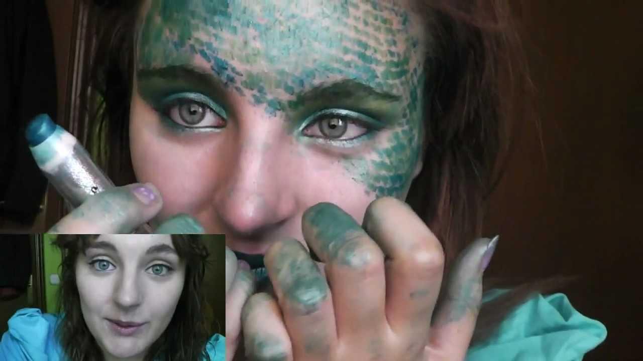 maquillaje serpiente