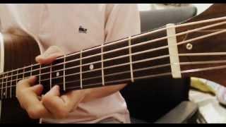 范瑋琪 - 悄悄告訴你 電影『被偷走的那五年』主題曲 Acoustic Guitar cover