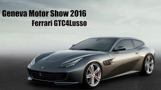 Ferrari GTC4 Lusso At 2016 Geneva Motor Show - DriveSpark