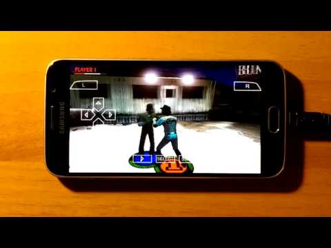 Samsung Galaxy S6 - The Warriors - PPSSPP v1.2.1 - Gameplay / Test