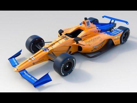 El nuevo McLaren para Alonso en la Indy
