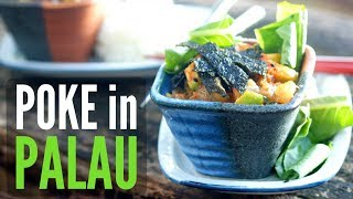 Poke in Palau | Wahoo Poke with Avocado Recipe