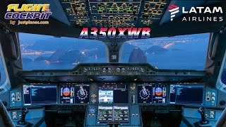 Airbus A350XWB Cockpit Film by JustPlanes