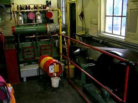 Oude Bram, Industrie diesel www.molen-de-eendracht.nl