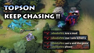 TOPSON MAD SILENCER DESTROYING MID SF AND STEALING 70 PERMANENT INTELLIGENCE