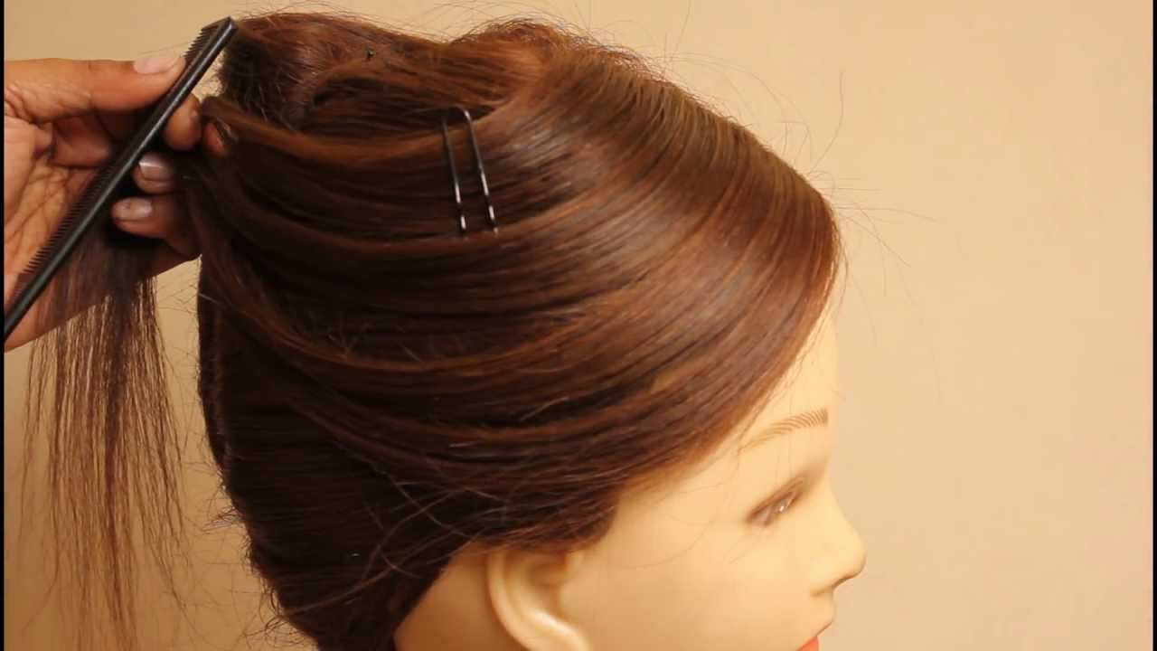 French Knot Hairstyles by estherkinder - YouTube