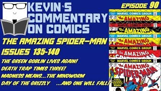 The Amazing Spider-Man #136-140 Reviewed..sorta!  Kevin's Commentary on Comics Ep 90!