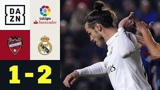 2x Rot, 2x Elfer - Gareth Bale entscheidet wildes Spiel: Levante - Real Madrid 1:2 | La Liga | DAZN