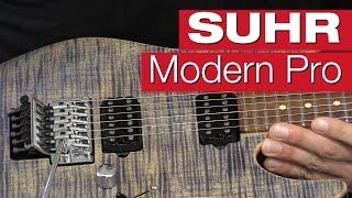 Suhr Modern Pro PF TBD E-Gitarren-Review von session