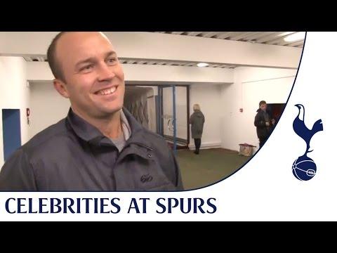 Celebrities at Spurs | England cricketer Jonathan Trott