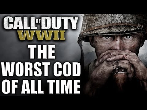 CALL OF DUTY WW2...THE WORST COD OF ALL TIME! 😡 HONEST COD WW2 REVIEW