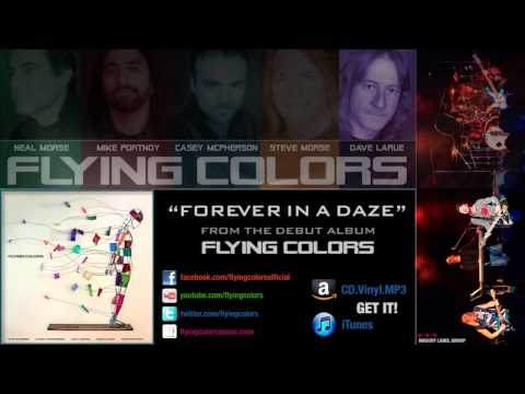 "Flying Colors: ""Forever in a Daze"" (Official HD Lyrics Video)"