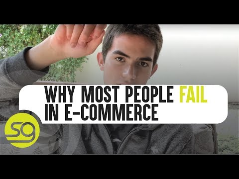 Why Most People Don't Make It In E-Commerce | #20