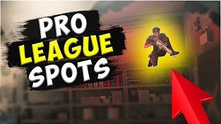 NEW Solo Pro League Hiding Spots  - Bank/ Kafe/ Chalet - Rainbow Six : Siege