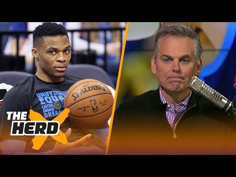 Colin Cowherd on the state of the OKC Thunder: 'Not. Working. Out' | THE HERD