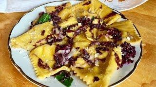 How to Make Tortelli with Radicchio | Pasta Grannies