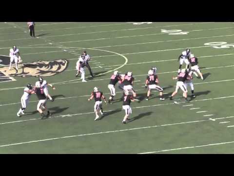 Carnegie Mellon Football Highlights vs. Geneva - YouTube