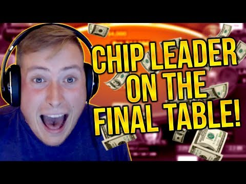 GOING INTO THE FINAL TABLE AS THE CHIP LEADER!! PokerStaples Stream Highlights