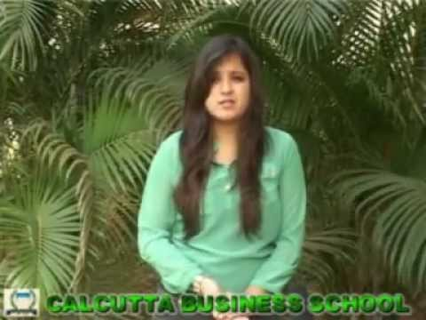 Why did I choose Calcutta Business School