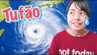 TUFÃO PAROU TUDO NO JAPÃO