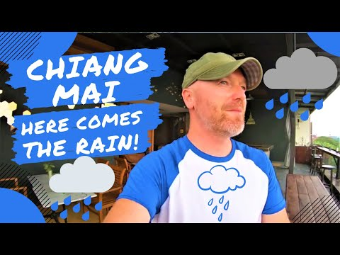 Chiang Mai - Here Comes The Rain | Living in Pollution Thailand 2020