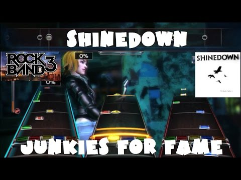 Shinedown - Junkies for Fame - Rock Band DLC Expert Full Band (July 22nd, 2008)
