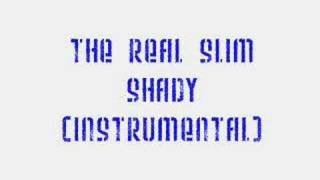 Eminem - The Real Slim Shady (Instrumental & Lyrics)