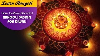 Learn Rangoli: How To Make Beautiful Rangoli Design For Diwali