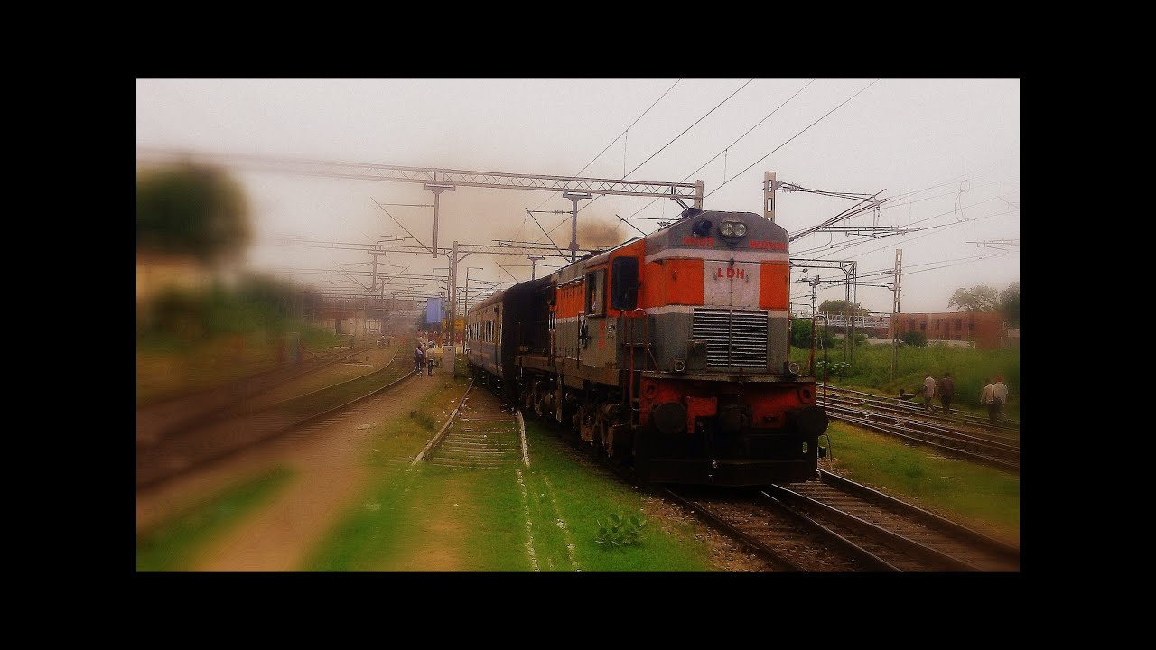 [HD] 12053 Haridwar-Amritsar Janshatabdi Express Chugs Out Of Jagadhri -  YouTube