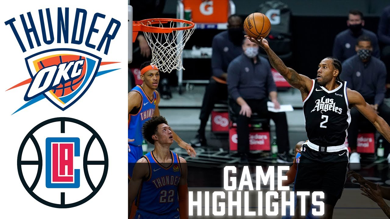 Download Thunder vs Clippers HIGHLIGHTS Full Game | NBA January 22 2021
