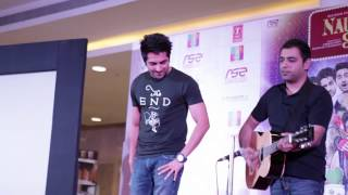 "Ayushmann Khurrana Singing ""Mera Mann""   Nautanki Saala Music Launch"