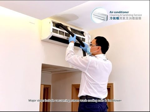 Professional Air Conditioner Cleaning & Sanitizing Service by Johnson Group