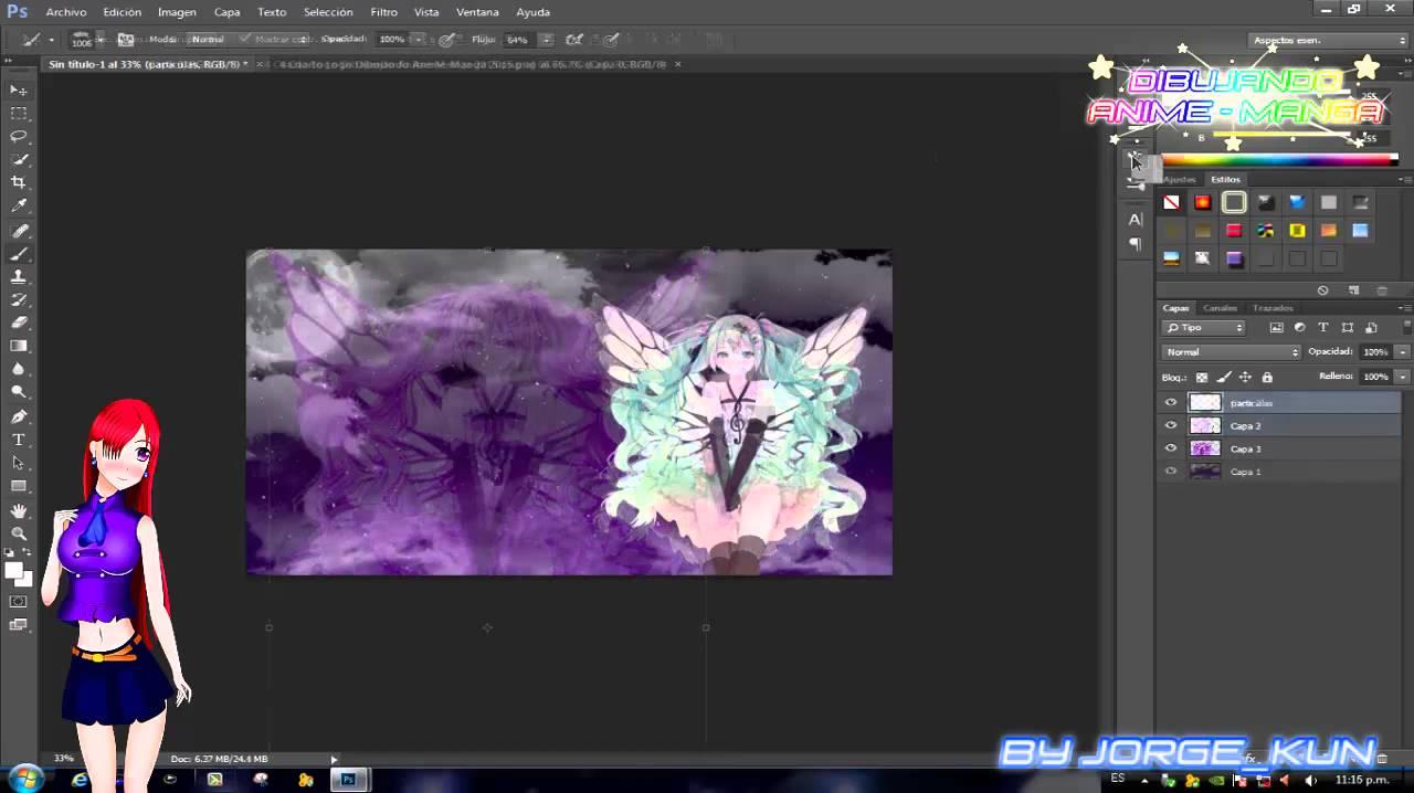 Dibujos Para Photoshop: 【Dibujando Anime-Manga】Descargar Pack De Pinceles Para