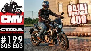 CMV#199: Bajaj Dominar 400 - pierwsze wrażenia - CODA MV