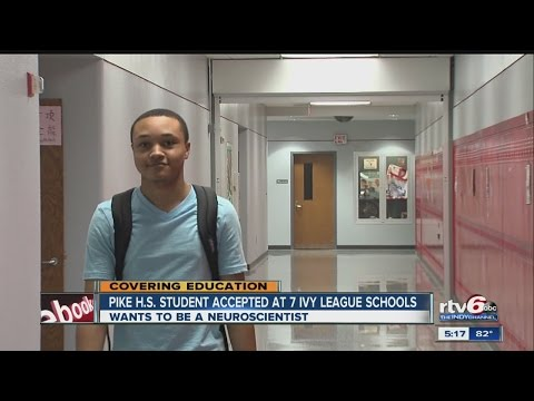 Pike High School student accepted at 7 Ivy League schools