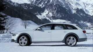 Audi A6 Allroad quattro 2012 - Presentation - Exterior-Driving scenes