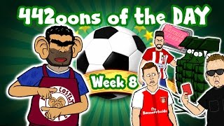 Xhaka Red Card! Carrasco Hat-trick! Costa vs Conte! 442oons of the Day WEEK 8 (Parody)