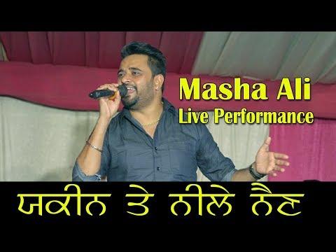 Masha Ali Live Yakeen & Neele Nain at Machhian Kalan by JassiTV