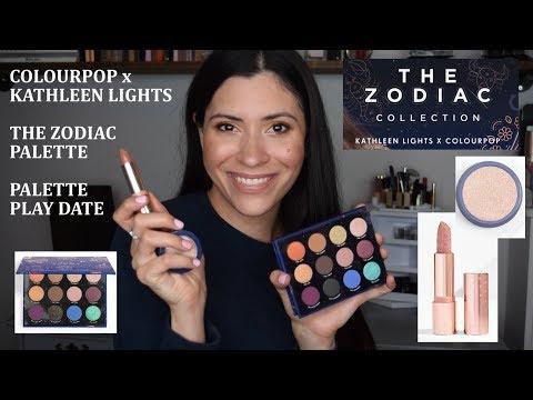 ColourPop x Kathleen Lights Zodiac Palette Play Date thumbnail