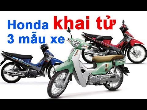 Choáng Váng Khi Honda Việt Nam Khai Tử 3 Mẫu Xe, Huyền Thoại Super Dream Vắng Bóng