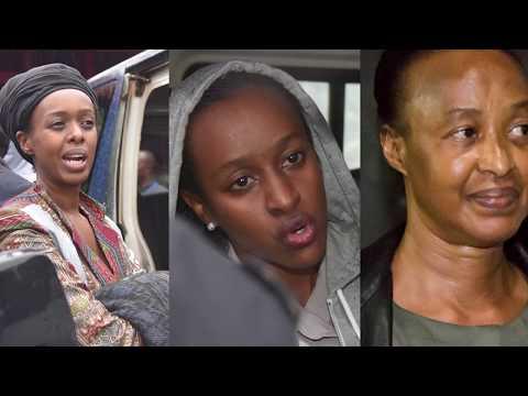 Diane Rwigara, persecuted under Dictator Paul Kagame in Rwanda