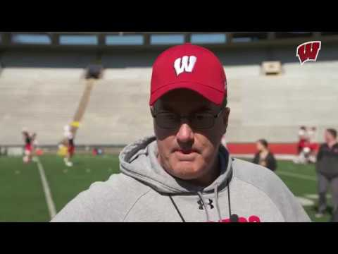 Wisconsin Badgers - Paul Chryst sees improvement everywhere in spring camp